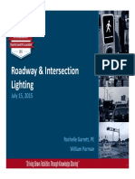 FDOT Roadway Lighting for Safety - Garrett and Parman