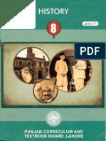 History Pakistan Govt Textbook 8th Class