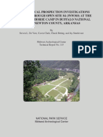 Analysis of the Capabilities of Low Frequency Ground Penetrating Radar for Cavities Detection in Rough Terrain Conditions