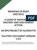 Playtest Document 1-411