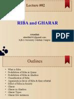 Lec 02 - Riba&Gharrar