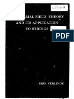 Erik Verlinde Thesis