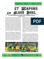 Secret Weapons in Blood Bowl