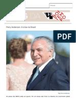 A Crise No Brasil Blog Da Boitempo