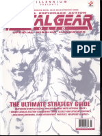 Metal Gear Solid Official Mission Handbook
