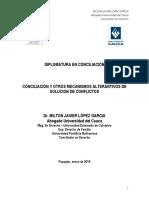 Documento Ponencia Diplomado Conciliacion