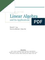David Lay Linear Algebra 4th edition chapter 9