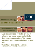 Moral Theology and the Human Person