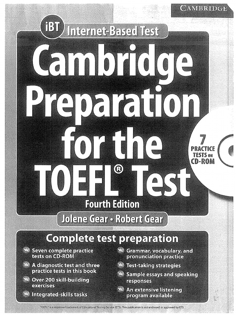 cambridge preparation for the toefl test 5th edition pdf download
