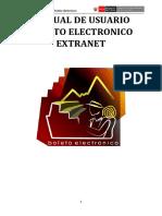 Manual de Usuario Extranet