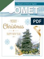Comet Winter 2016 newsletter