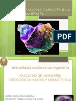 Mineral Caracteristicas y Clasificacion