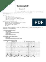 Gynécologie - dossier 4