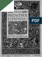 N. Jorga - Byzantine Empire