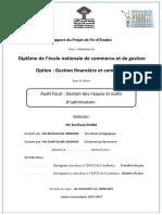 OUIDA Soufiane Projet de Fin d'Étude Audit Fiscal Gestion Des Risques Et Outils d'Optimisation