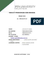 HBQE3203 ILMU TAFSIR