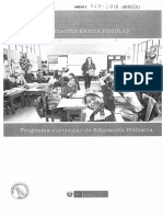 PROGRAMA CURRICULAR DE EDUCACIÓN PRIMARIA 2017 (I parte)