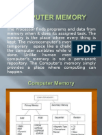 Computer Live Memory