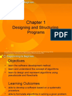 Chapter 1-Program Design
