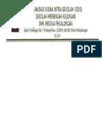 contoh Amplop OSIS