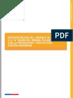 Nota Técnica N° 037 Interpretación del Párrafo III D.S. N° 594 de 1999 Relacionado con la Prevención y Protección Contra Incendios