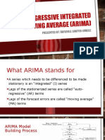Time Series Analysis ARIMA Final RaychellSantosEmbile