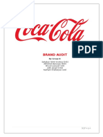 Brand Audit - Coca Cola
