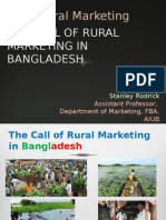 Chapter 1 - The Call of Rural Marketing in Bangladesh