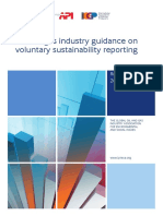 Voluntary Sustainability Reporting Guidance 2015