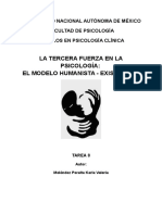 El Modelo Humanista - Existencial