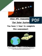 Alien AFL Assessment 1.