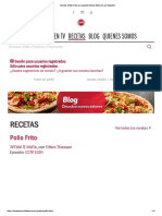 Receta_ Pollo Frito en Español _ Food Network en Español