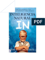 Aranda Jose Carlos - Inteligencia Natural