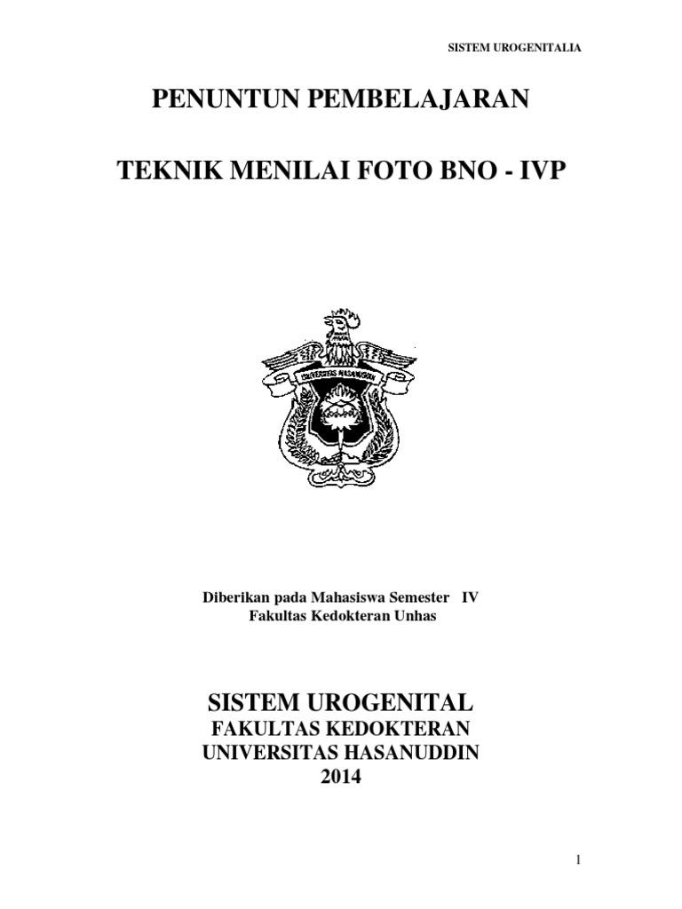 Manual Csl Iii Bno Ivp Urogenital Ct Scan Kidney Koas Masker Mr
