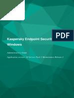 Ag Kaspersky Endpoint Security 10SP1mr2 En