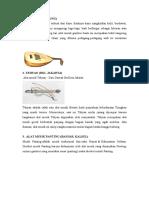 Alat Musik Petik Dan Asal Daerah Nya
