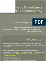 Metabolic Disturbance and Encephalopathy (1)