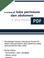 Infeksi Luka Perineum Dan Abdomen