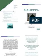 Saheefa (Booklet Version) Hanafi Fiqh By Shaykh Ninowy