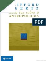 GEERTZ. Nova Luz Sobre a Antropologia