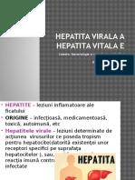 Hepatita Virala A, E