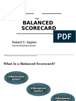 The Balanced Corecard Robert Kaplan