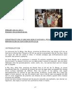 Dossier Pour La Demande de Fonds - Orphelinat 2010 _2