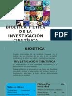 Bioética y Ética de La Investigación Científica
