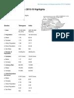 Manapsc.com-Telangana Population 2015-16 Highlights
