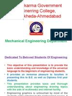 Engineering Graphics VGEC Mech
