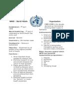 Agencies of UN