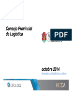 Presentacion Consejo Logistico Provincial Cordoba