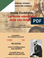 Durkheim_Le Forme Elementari Della Vita Religiosa