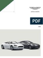 Astonmartin Brochure Db9 Germanψφδφ